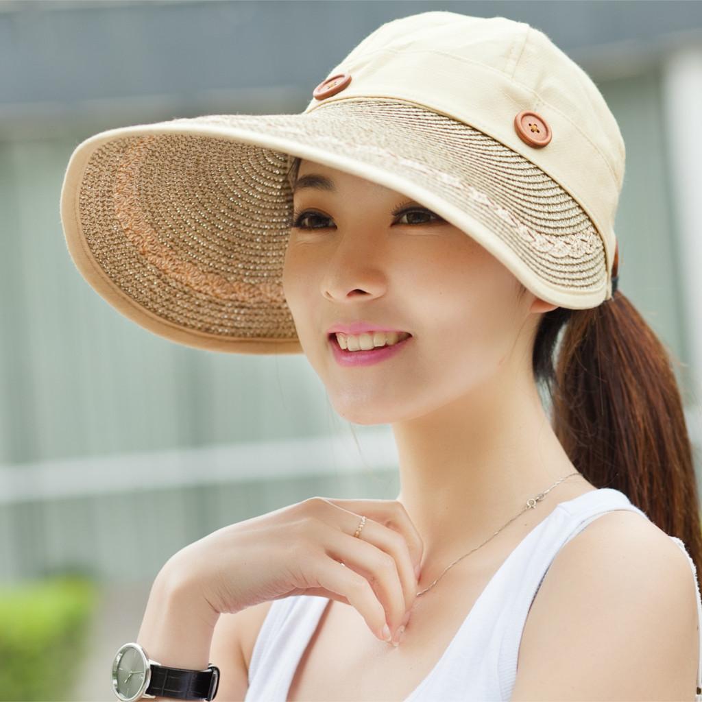 防紫外线两用空顶帽