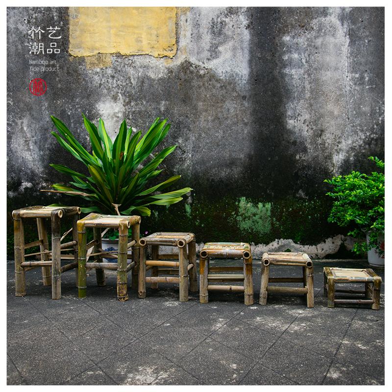 竹椅子手工竹椅竹凳
