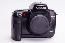 佳能 CANON EOS 5 胶片 中端 单反 相机 优于 7S  不输1N