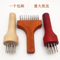 Nail tender meat needle pine needle pig skin buckle meat needle meat plug loose meat burning beef tender steel nail