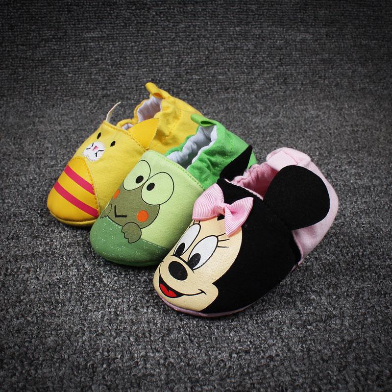 女婴学步鞋棉