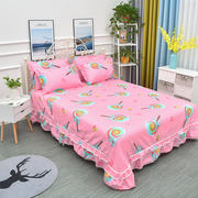 Winter single twill bed skirt single piece special offer Simmons double bed cover protective cover 1.5 m 1.8 m 2.0 m bed