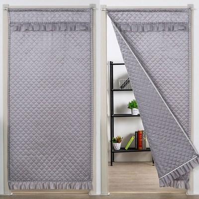冬天棉门帘布艺保温空调帘子冬季保暖加厚挡风隔热卧室客厅长门帘