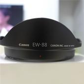 二代镜头植绒 82卡口遮阳罩 佳能原装 2.8L 88遮光罩