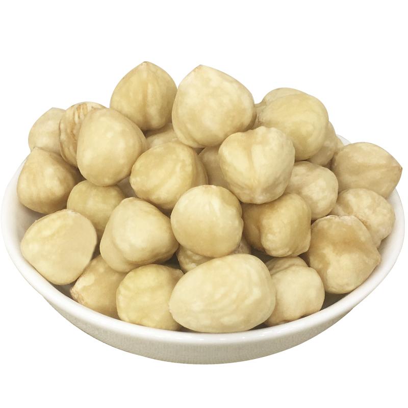 原味熟榛子仁500g包邮无糖无盐烘培材料香脆榛子仁果仁坚果零食