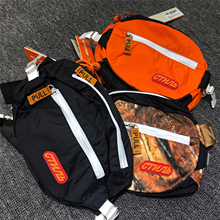 Heron Preston Hongkong HK Collision Crane ctnnb Brown Leaf Camouflage Orange Luggage Oblique Brassiere Moisture