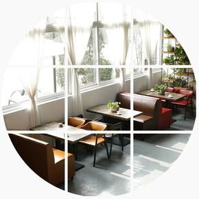 快餐西餐咖啡厅火锅甜品奶茶店洽谈桌椅组合饭店酒吧椅子卡座沙发
