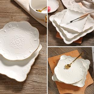 浮雕蛋糕盘