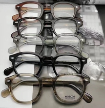 MosCOT Mascot LEMTOSH retro fashionable man's spectacle frame men's imported plate spectacle frame women's myopia spectacles