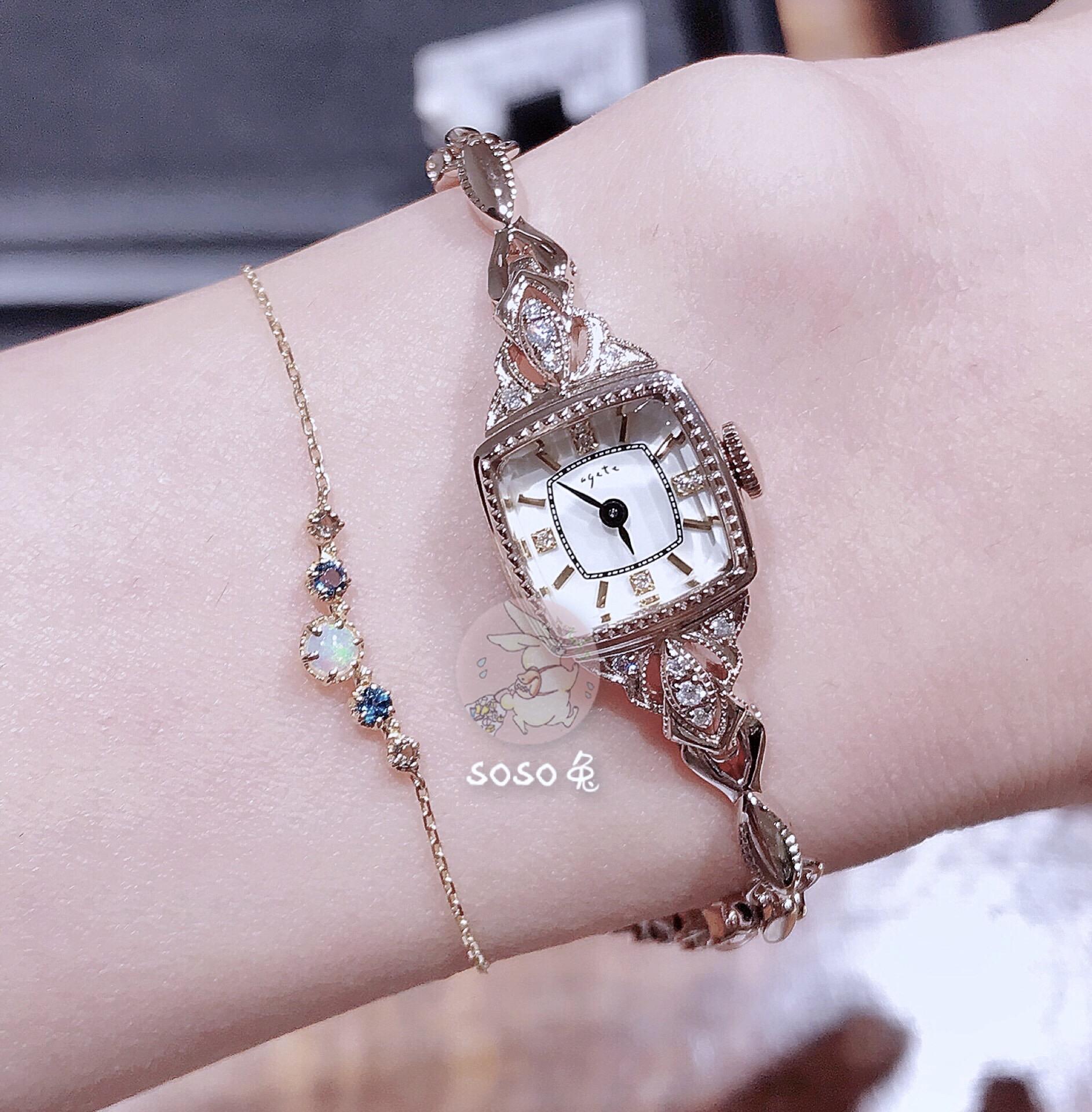 日本代购agete手表