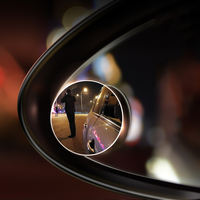 Wide-angle mirror car rear view mirror small round mirror blind spot 360 degree inverted mirror auxiliary mirror blind area mirror