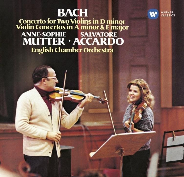 :巴赫穆特&小提琴全集阿卡多协奏曲