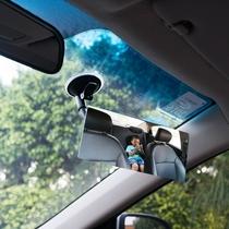 日本汽车小圆镜盲点镜倒车看轮胎广角镜后视辅助镜死角镜停车镜