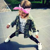 Fall 2018 INS explosive children's clothing boys and girls camouflage windbreaker baby leisure camouflage jacket children's jacket