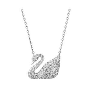 【直营】Swarovski 施华洛世奇进口女Swan天鹅经典项链可调锁骨链