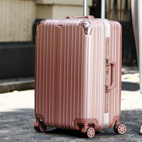 Trolley universal wheel 20 luggage 22 female suitcase 24 male password leather box boarding 26 inch student luggage
