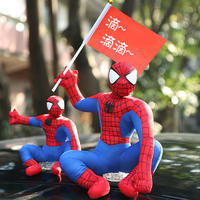Car accessories car roof doll decoration car spider car car doll car tail decoration