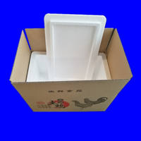 Chicken chicken foam box special box express transportation insulation refrigerated refrigerator incubator foam thermostat fresh box