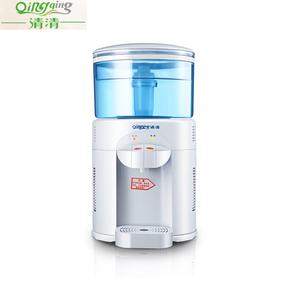 清清台式饮水机小型迷你净水桶直饮立式过滤桶净水器温热家用