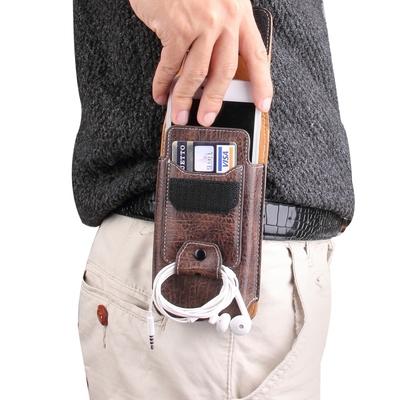 苹果iphone6 plus手机套5SE荔枝手机腰包挂腰袋休闲小包穿皮带男