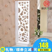 饰简易客厅房间卧室移动折叠玄关 创意双面屏风隔断装 简约现代时尚