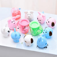 Effective Pencil Sharpener Cute Student Pencil Sharpener Creative Korean Pencil Sharpener Fun Animal Geometric Pencil Sharpener