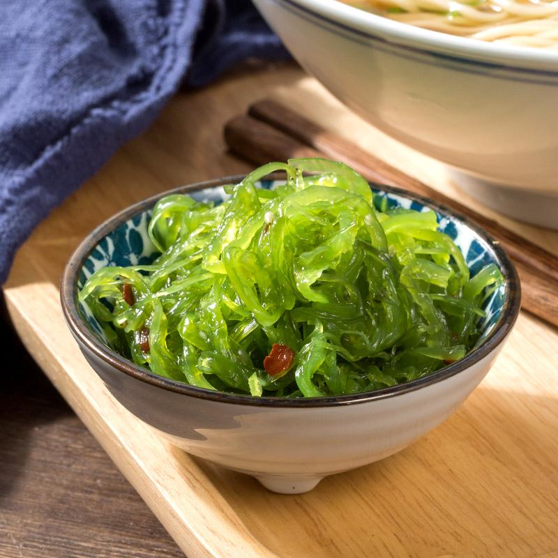 海狸先生海带丝裙带菜800g开袋即食酸甜中华海草沙拉海藻菜海白菜