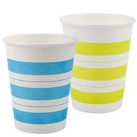 Deli 9560 thick paper cup 250ml 9 ounces 50 packs high temperature resistant leak proof