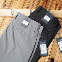 Z-Series Brand Men's Trousers Slip and Wrinkle-Free Summer Ultra-thin and High Elastic Ice Silk Fiber Leisure Pants Men's Body-building Fast-drying Trousers