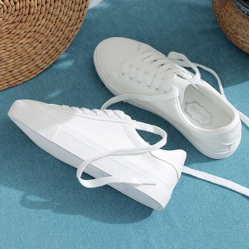 女学生单鞋布帆鞋春