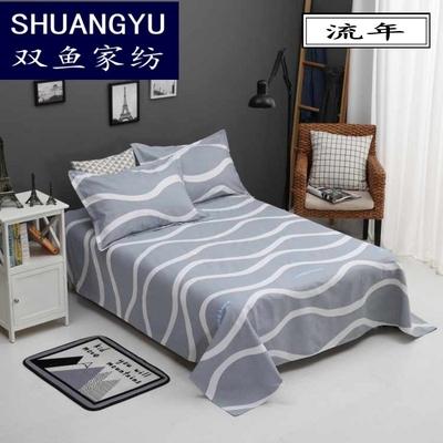 夏季老粗布床单单件加厚学生单人纯棉帆布凉席1.5m1.8米2.0双人床哪个好