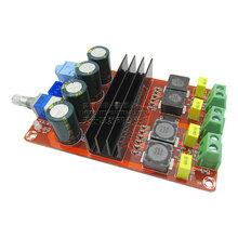 2*100W数字功放板 12V-24V宽电压 TPA3116D2双声道放大板功放模块