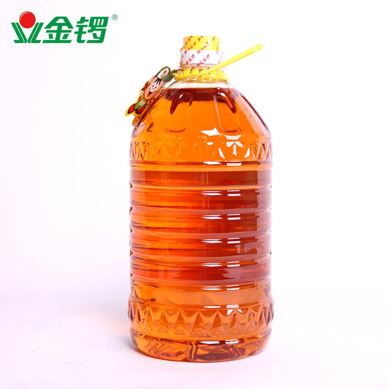 【金锣旗舰店】非转基因三级大豆油5L*1桶 食用油植物油 烘焙原料