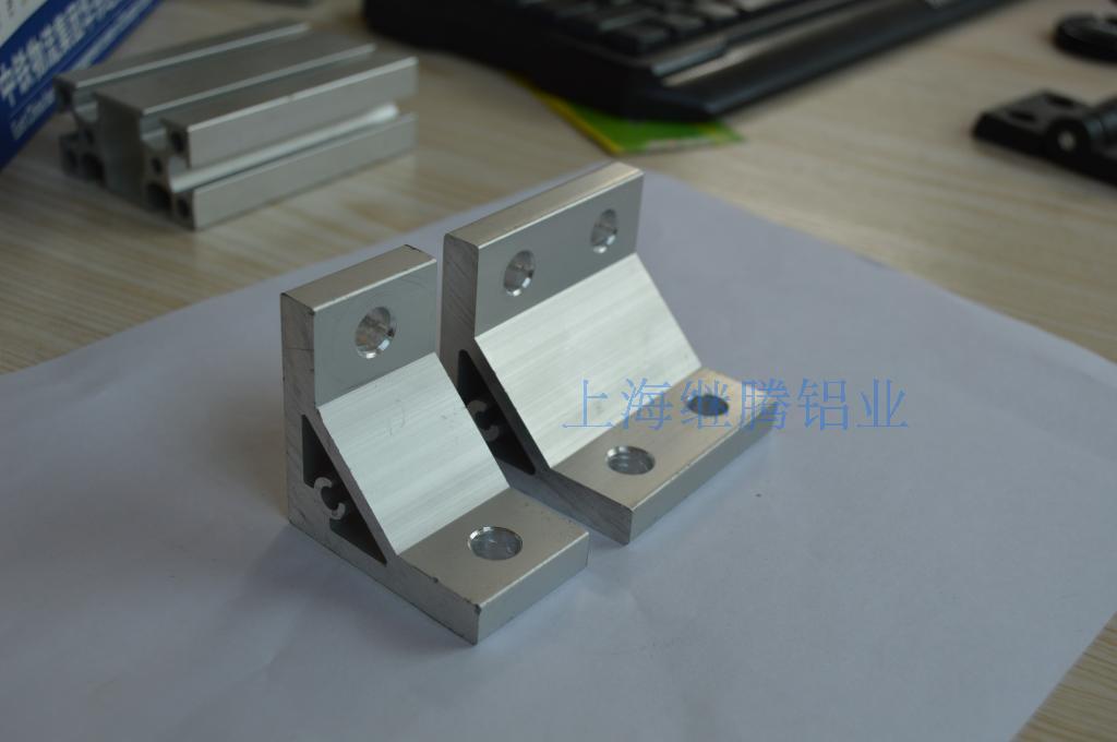 定制铝型材90度角码加厚角件 90度支架 2020 3030 4040挤压角件