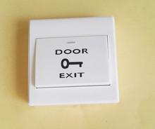 常开86明装门禁出门按钮  出门开关 自复位门禁开关 门禁套餐配件