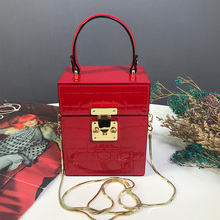 SGPG Special Store New Product 2019 Spring Style Single Shoulder Slant Handbag Individual Fashion Banquet Annual Meeting Boxes and Bags