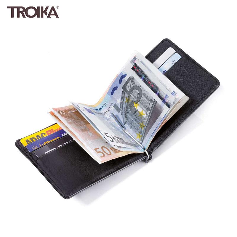 德国Troika皮质男士钱包钱夹信用卡包零钱包 情人节送男友新年礼
