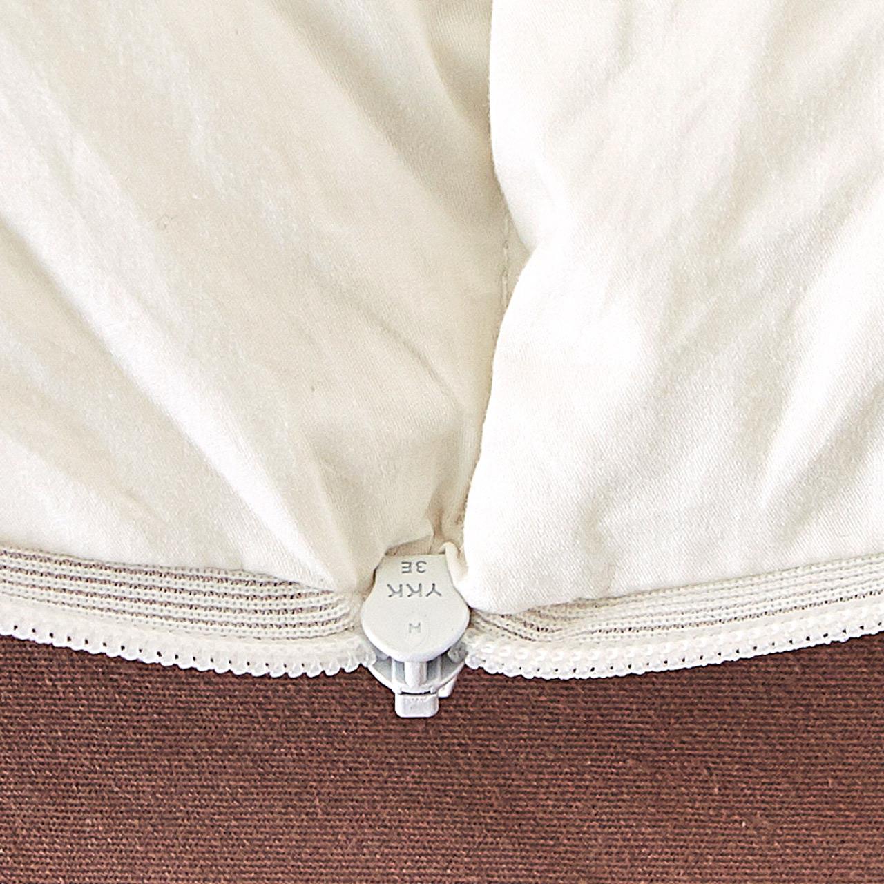 波司登家纺 外层白鹅绒 内层乳胶颗粒 自由可调节高度 枕头 枕芯
