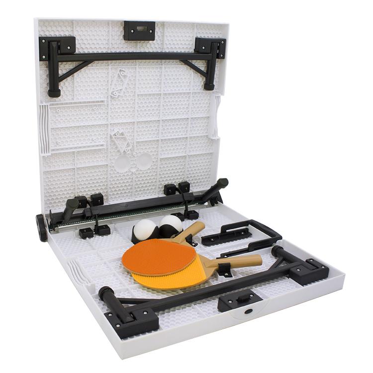 KERORO军曹折叠式儿童小型乒乓球台运动球类玩具桌面亲子游戏