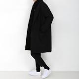 DM原创/ins帅气潮搭配达人宽松小呢子毛呢大衣男女朋友一起穿外套