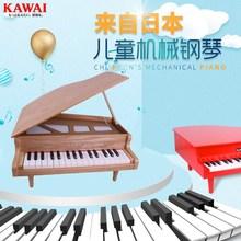 6岁男孩女孩初学者早教家用玩具 日本卡哇伊小钢琴儿童木制25键3