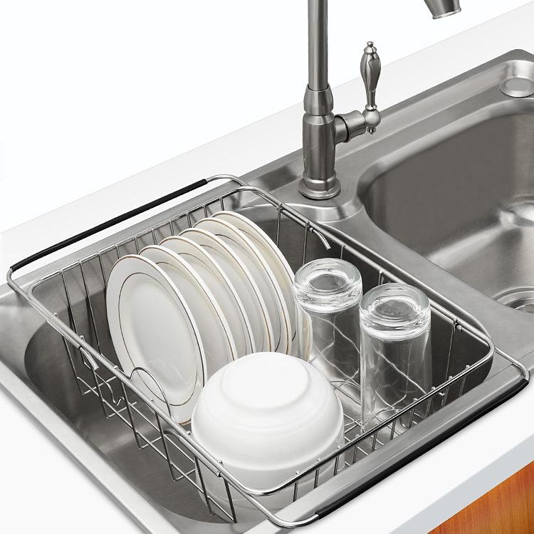 不锈钢滤水架碗碟架厨房置物架