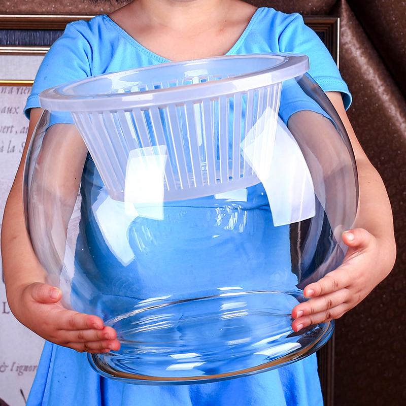 水培玻璃容器 圆形