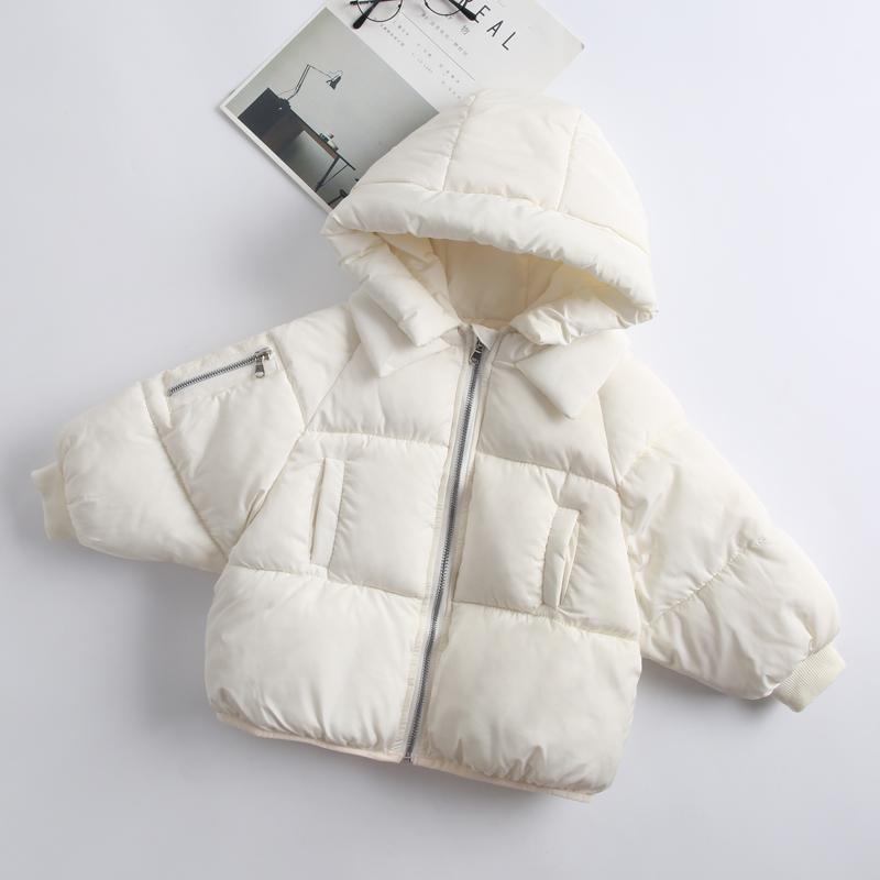 儿童宝宝反季衣服冬装羽绒棉服男女童婴儿短款棉衣加厚面包服棉袄