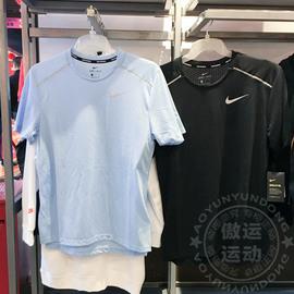 Nike/耐克男装2019夏新款速干透气跑步运动短袖T恤AQ9920-010-436图片