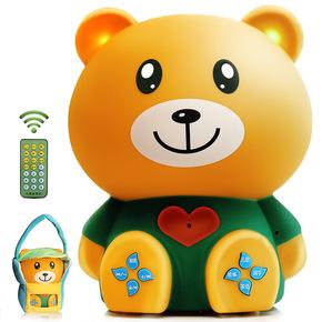 K密小熊早教机故事机可充电下载婴幼儿宝宝儿童音乐投影玩具0-6岁