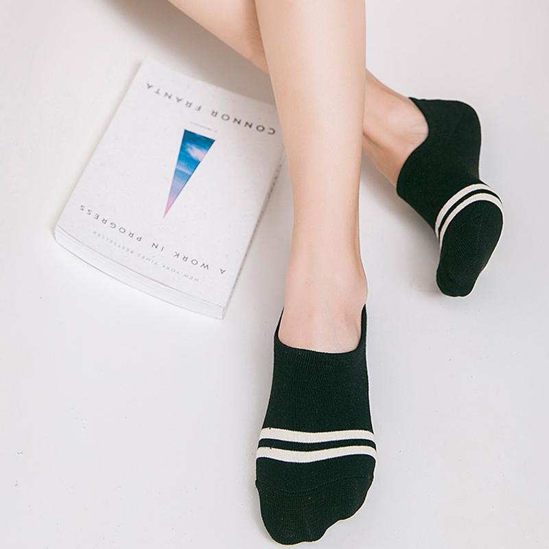 袜子女士短袜船袜棉袜四季女袜低帮浅口防臭运动袜四季棉袜隐形袜