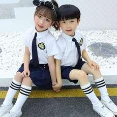 e214863d3 Coro infantil traje de rendimiento para niños y niñas babero uniforme  escolar alumnos de primaria y