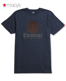 Macy's男士品牌标识图案T恤Element174011586
