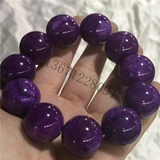 Fidelity Natural Jade Burmese Emerald Violet Beads Bracelet Ice Skull Purple Men's Atmosphere Jade Bracelet
